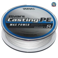 Original Fishing line Varivas Avani Casting PE 8 Braided Max Power #4 300m