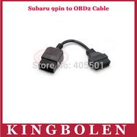 Factory Price For Subaru 9 Pin 9Pin Male to OBD OBD2 OBDII DLC 16 Pin 16Pin Female Car Diagnostic Adapter Converter Cable