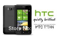 Original HTC Titan Unlocked 4.7''TouchScreen 8MpMobile Phone 16G internal Wifi Refurbished Free Shipping
