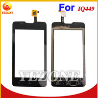 Original New Touch Screen For Fly IQ449 Pronto Digitizer Front Glass Replacement Front Glass  Black White Color Free Shipping