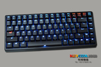 Keycool 84 mini mechanical keyboard backlight blu ray thioindigo red green light orange light
