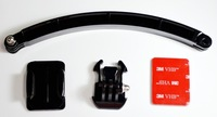 Gopro helmet extension arm