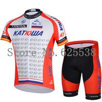 S-XXXL Cycling suit jersey shirt + shorts Bicycle set riding sportswear