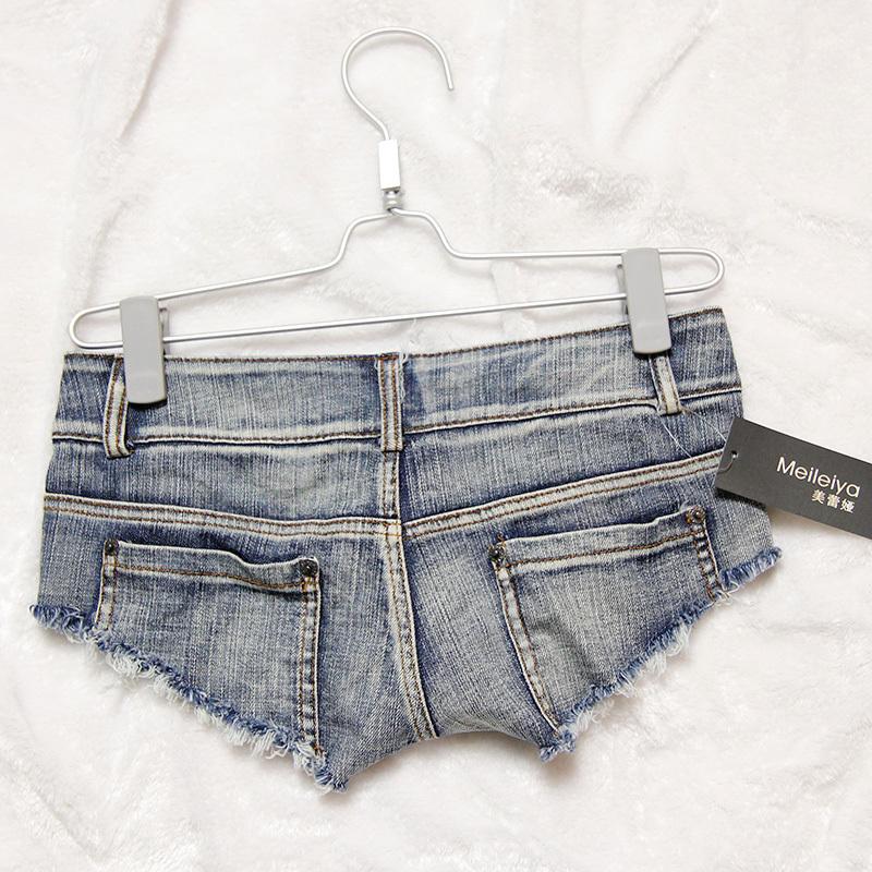 denim micro shorts - photo #45