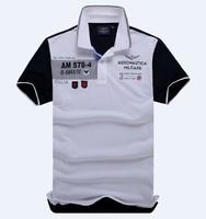 Top Quality Camisa Polo Masculina Slim Fit Shirts Embroidery Aeronautica Militare Casual Cotton Polo Shirt Short Sleeve K802