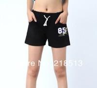 85 Black Carton Sport beach Denim Shorts High Waist Short for Women Pants High Quality Lace short  Mon