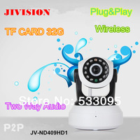 network camea TF/Micro SD Card Slot IP Camera Wireless P2P Plug and Play Night Vision Pan/Tilt Two Way Audio Wifi mini camera