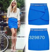 New 2014 Spring Summer Top Fashion Women Skirts, Tight Hip High Waist Chiffon Skirt Women, Free Shipping Plus Size Skirt.