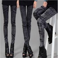 2014 spring female legging skinny jeans pencil pants many kinds of pattern