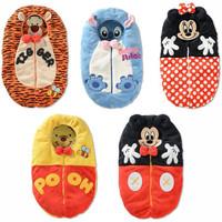 SQ1 [ Oval ] new cartoon fleece sleeping bag baby sleeping bag Baby Bedding [ Item W981]