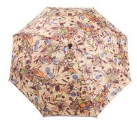 Free shipping Nova umbrella doodle oil painting umbrella  personality umbrella three fold umbrella