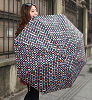 Free shipping Nova fancy umbrella folding umbrella personality umbrella women's three fold umbrella