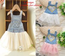 popular baby denim dress