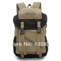 Hot sale: 2014 canvas male female fashion backpack casual travel bag computer backpack