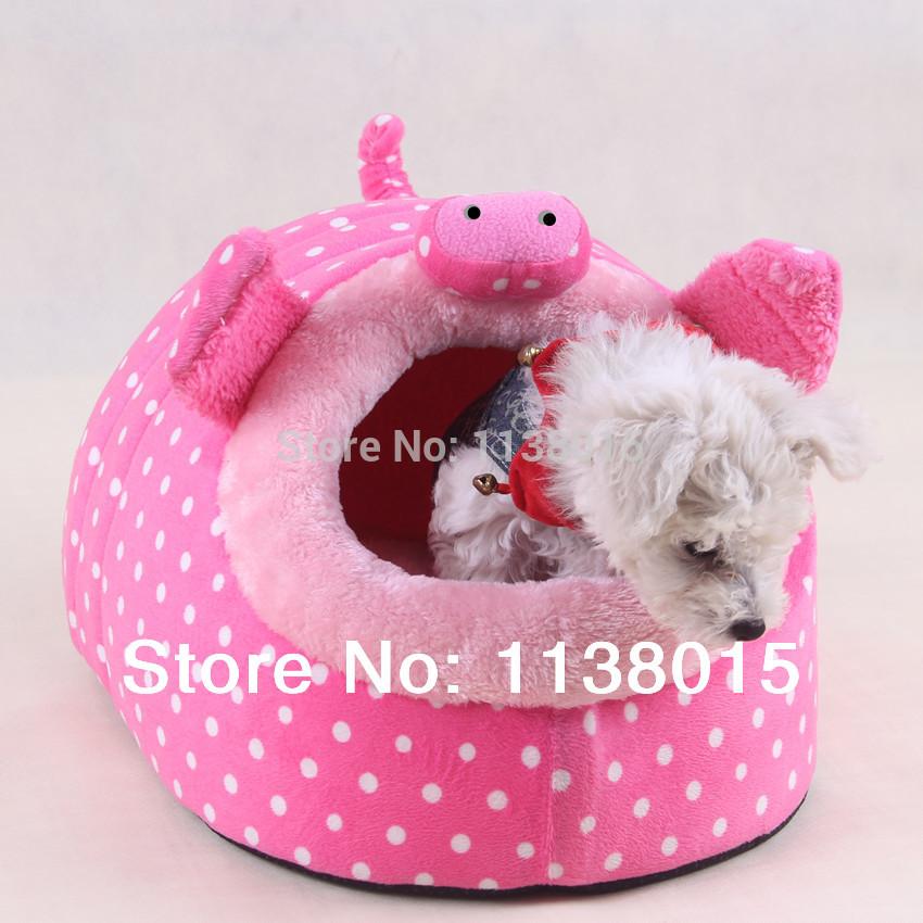 pig shaped animal new design dog bed 2014 hot sale dog house pet