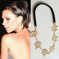 10pcs/lot Women's Korean Style Elegant Olive Leaf Design Headband Hairpin