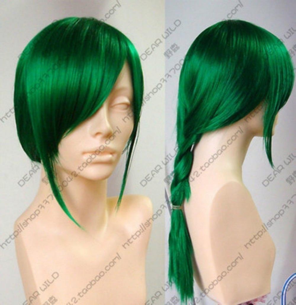 Dark Green Wigs 87