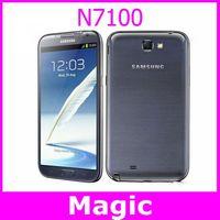Unlocked Original Samsung Galaxy Note II N7100 Mobile phone 5.5 inch touch screen 8MP camera GPS WiFi 16GB storage free shipping