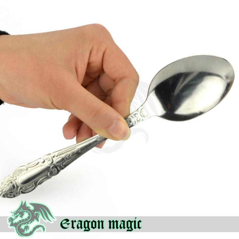 Nitinol Spoon Magic Hand Bend Spoon Eragon Close up Psychic Kinetics Magic Tricks Magia Magie