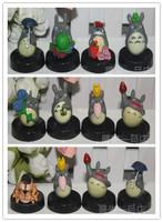 Totoro family portrait, Miyazaki Totoro doll ornaments bus, a full 12 models, premium toy doll