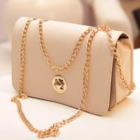 Chain small shoulder bag  women's 2014 spring candy color bag women's handbag