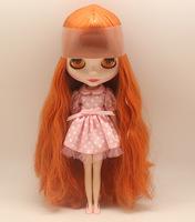 Free Shipping hot sale TB-271  Nude Blythe doll lovely DIY toy birthday gift for girls fashion big eyes dolls beautiful Hair