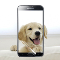 Anti-scratch Screen Protector, Clear Front Screen Protector, 10pcs/ lot   with retail package for Samsung Galaxy S5 i9600