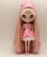 Free Shipping hot sale TB-278  Nude Blythe doll lovely DIY toy birthday gift for girls fashion big eyes dolls beautiful Hair