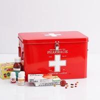 Plus size lockable first aid kit extra large home medicine box multi-layer kit drug storage box