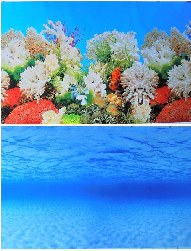 Aquarium backgrounds promotion online shopping for for Aquarium mural wallpaper