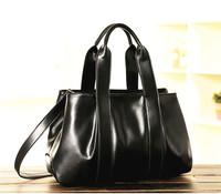 new 2014 women's genuine leather handbag women fashion shoulder bag fashion handbag vintage messenger bag cowhide big clutch bag