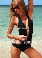 swimwear tankini one pieces deep V neck women bikini bathing suit sexy and stylish hot bikini summer collection!