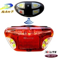 Q-lite all in on bicycle wireless brake light direction lamp steering lamp 873509