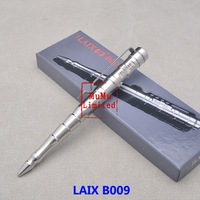 LAIX - B009 With Gift Box Full Stainless Steel Tactical Defense Pen Survival Pen Multi-function Self Protection