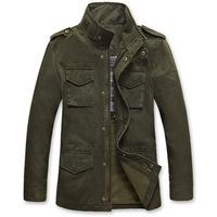 2014  Winter  Man Brand Outwear 100% Cotton  Jacket Coat Casual Winter Jacket Coat For Mens Plus Size Denim Coat  XXXL