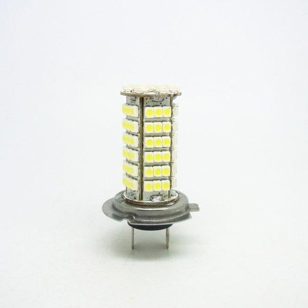 Fog lamps HIGH POWER H7 102-LED 3528 SMD 6500-6500K Taillights Weiss Nebelscheinwerfer Auto Birnen Head light daytime lights(China (Mainland))