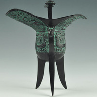 Antique bronze device bird gifts abroad unique gift