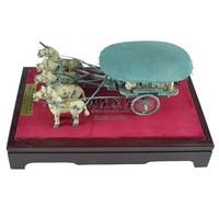 Terra cotta warriors copper horse car crafts decoration business gift