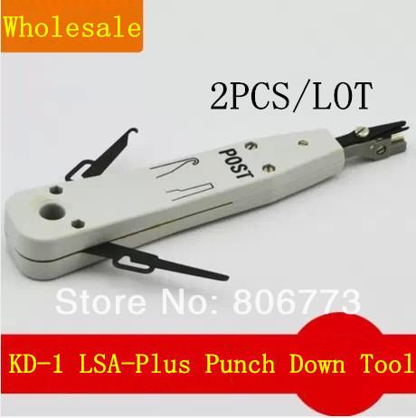 2pcs/lot KD-1 Punch Down Tool KRONE LSA Plus Free shipping(China (Mainland))