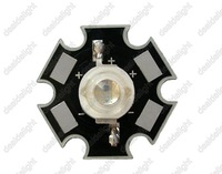 Freeshipping!Epistar 3W UV/Ultra Violet High Power LED Bead Emitter 365nm-370NM With 20mm Star Platine Base