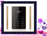 Factory sale 4.8mm Ultra Thin MOOC X5 Children Card mobile phone  pocket mini Phone Low Radiation  bluetooth phone Free shipping