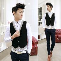 Hot-selling vest spring male casual vest 601mj01p55