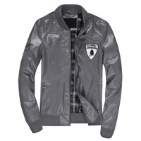 Spring and autumn male leather clothing leather jacket outerwear motorcycle leather clothing 601-jk89p80