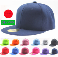 Top Fashion Storm Single color Fashionable Sexy skateboard cap Hip-hop hat Snapback Baseball Cap free shipping