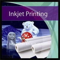 """36""""*18m waterproof 260gsm matte solvent polyester canvas printing paper"""