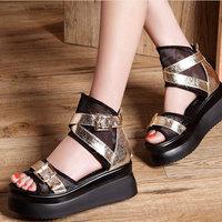 2014 Summer Platform shoes Sexy Elegant women sandals DunHu501