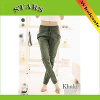 2014 New Fashion high street Pants & Capris Mid Waist baggy casual running Plus Size Sweatpants Sport women sportswear trouser
