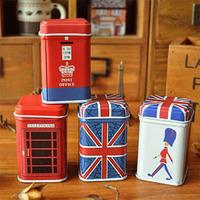 Free ship!24pc!London style storganizer boxes,tin box,small box,storage case,household goods,storage container