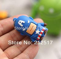 Free shipping Captain America 2 USB flash drive pen drive captain America USB pendrive 4GB 8GB16GB 32GB