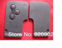 High quality Megane 3 Buttons Key Card Shell ,Singapore Post Free Shipping